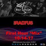 """Bar Louie """"First Hour"""" 10-14-17"""