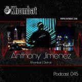 Khombat Podcast #045 feat. Anthony Jimenez (Blank Code) Detroit