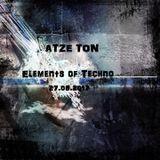 Atze Ton @ Elements Of Techno (27.08.2017)