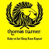Deniz Koyu Vs Fatboy Slim & Riva Starr - Ruby vs Eat Sleep Rave Repeat ( Thomas Turner Mash) )