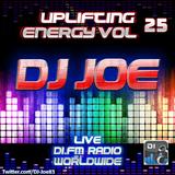 DJ Joe - Uplifting Energy Vol 25 (Live on DI.FM Radio)