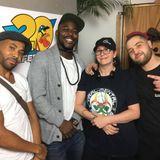 Nuty J, Mass, Fizar Banton & DizzieDanger My first show on LifeFm 19.10.2018