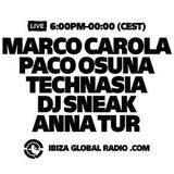 It's all about the Music Marathon special radioshow with Marco Carola