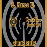 Marco W. - Live at FreakShow Broadcast Vol. 11 (24.06.2017 @ Mixlr)