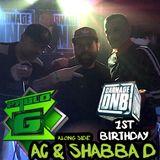 Pablo G With AC MC & Shabba D - Carnage DNB 1st Birthday 23rd Nov 2018