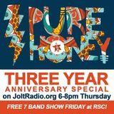 Purehoney 3 year anniversary