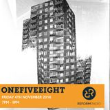 OneFiveEight 4th November 2016