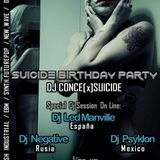 DJ Led Manville - Suicide Birthday Party by DJ Led Manville (07-03-2015)
