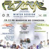 Jumping Jack Frost + The Ragga Twins @ FUTURE Winter Session, MS Connexion Mannheim (19.12.1998)