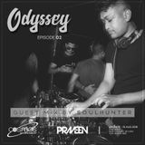 ODYSSEY #02 guest mix by Soulhunter ( Sri Lanka ) on Cosmos Radio - Germany (15 AUG 2018)