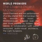 World Premiere -The Chimera Project: Middlesbrough -LIVE- The Empire-Middlesbrough- 15 November 2003