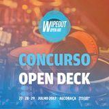 Concurso Open Decks Wipeout Open Air 2017