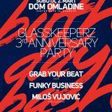Funky Business @ Glasskeeperz 3rd Birthday, Dom omladine Pančevo 2.3.2013