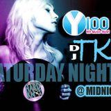 Y100 DJ TK SATURDAY EDM MIXSHOW OCTOBER 10TH 2015