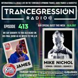James on Trancegression 413 Kiss Fm Dance Music Australia 19/01/17