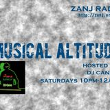 Musical Altitude with DJ Cane (FEB.18.2017) on @ZANJRADIO | with a feature on Marvin Gaye