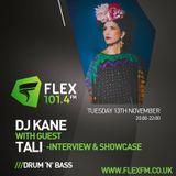 DJ Kane with guest Tali (Interview) Flex FM 13.11.18
