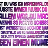 Musik und diesen einen Moment.....