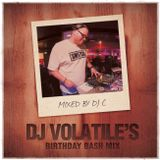 Switch | Volatile's Birthday Bash | DJ C's Dancehall Mix