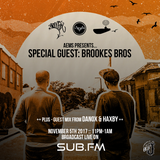 Aems ft Brookes Brothers & Danox and Haxby - SubFM - Show013 - 05_11_2017