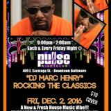 DJ Biskit with special guest Marc Henry Rocking the Classics @ Pulse Fridays 12-2-16