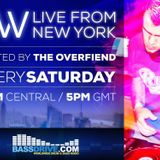 EW Live from NY May 21st 2016 Special Guest inZtance hosted by Overfiend [Bassdrive Show]