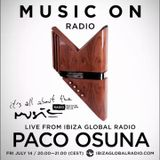 Paco Osuna - It's All About The Music @ Ibiza Global Radio 14-07-17