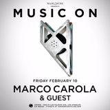 Marco Carola - Live @ Music On, Sound NIghtclub (Los Angeles, USA) - 11.02.2017