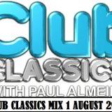 Hot91.9fm Club Classics Mix 1 August