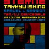 Samuel L. Session - Live @ Sterne, Womb Club, Tokyo, Japão (06.04.2012)