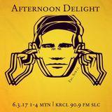 Afternoon Delight - June 3, 2017 - Guest DJ Chip Luman