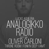 ANALOGIKKO RADIO BY LUCAS AGUILERA - OLIVER CARLONI - GUEST MIX - TM RADIO - Episode 051