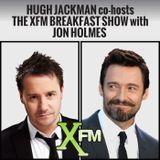 Hugh Jackman co-hosts The XFM Breakfast Show