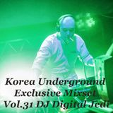 Korea Underground Exclusive Mixset Vol.31 DJ Digital Jedi