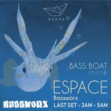 espace (Bassworx DXB) @ Bass Boat - Krakow PL - 2018-11-17 - last set