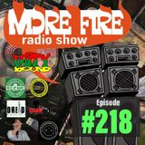 More Fire Radio Show #218 Week of April 27th 2019 with Crossfire from Unity Sound