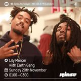 The Lily Mercer Show | Rinse FM | November 20th 2016 | Earthgang