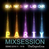 HALLO-DANCE-2016-11-Dan's Floor (Dan Saycool Mixsession)