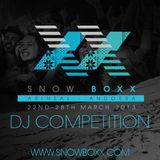 Snowboxx Festival DJ Competition
