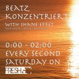 1 Hour with Shane Effet in the Mix The FRESH ClubNight - Session 116 powered by FRESH 96.8