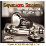 Expansions Sessions 79min Promo Mix 3/14/11