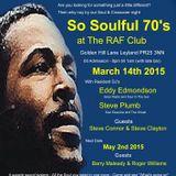 Steve Plumb on 'A Taste Of Soul' SOLAR RADIO 8/02/2015 Hour 1