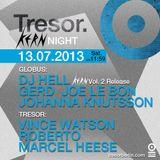 Roberto @ Kern Night - Tresor Berlin - 13.07.2013