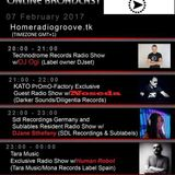 170207 21-22h (gmt+1) Kato PrOmO Factory Excl. Guest Radio Show w/NOSEDA