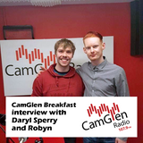 CamGlen Breakfast interview with Daryl Sperry and Robyn, 6 June 2017