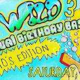 """""""wet & wild 3 Rizzo's annual birthday bash! 90s edition"""""""