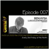 Luscious Intrigues 007 [Jul 2013] on GWM Radio