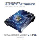 Armin van Buuren - ASOT Year Mix 2011 The Full Versions, Part 1 (Full Continuous Mix by J.D.F.D.)