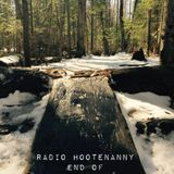 Radio Hootenanny Hr2 End of March 2017