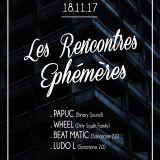 "SET WHEEL ""LES RENCONTRES EPHEMERES"" SONOTONE 18 NOV 2017"
